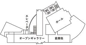 館内マップ3Fs
