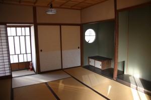 朔太郎記念館:離れ座敷内観